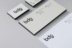 Cool, minimalist and iconic brand identity for BDG by San Francisco's Manual | Creative Boom