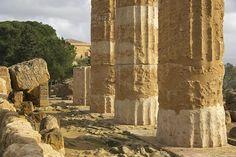 """Das """"Tal der Tempel"""" bei Agrigento"""