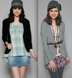 Layers and skirts. I love the one on the left.