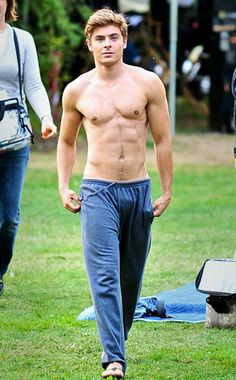 Zac Efron...you have DEF grown up since your high school musical days!