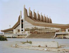A sports hall in Kosovo's capital Pristina