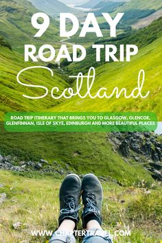 This road trip itinerary for Scotland brings you to Glasgow, Glencoe, Fort William, Glenfinnan, Isle of Skye, Edinburgh and more beautiful places. In Isle of Skye, we recommend to visit Neist Point Lighthouse, Kilt Rock and Mealt Falls, the Old Man of Storr and Fairy Pools. This Scotland itinerary also includes useful tips for your road trip, such as where to rent a car! #Scotland #Scotlandroadtrip #IsleofSkye #roadtrip #travel