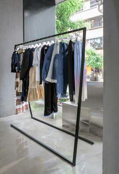 clothing store design Gallery of DressingForFun / NTYPE - 14 Boutique Interior, Design Boutique, Clothing Store Interior, Clothing Store Displays, Clothing Store Design, Boutique Decor, Fashion Store Design, Showroom Design, Shop Interior Design
