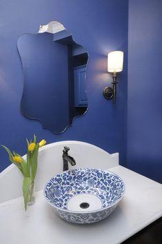 TRENDY: BOWL BATHROOM SINK DESIGNS http://www.maisonvalentina.net/en/inspiration-and-ideas/interiorsdecor/trendy-bowl-bathroom-sink-designs #bathroomsink #luxurysink #bowlsink #luxurybathroom