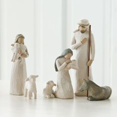 Willow Tree Nativity Set: Cameo would like to start collecting these and eventually get the complete set