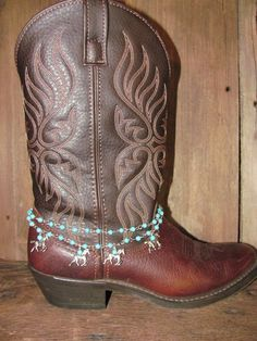 Cowgirl Boot Sweets / Boot Bracelet / Western by TheMaidensFlower