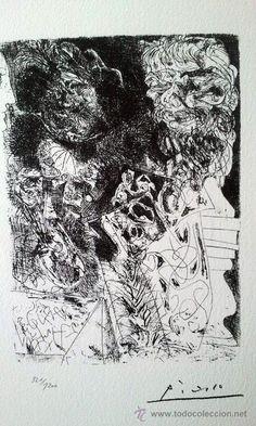 PICASSO, P. (1881-1973). SUITE VOLLARD. LIMITADA 1200EJ. NUM. 322/1200. EDICION 1973