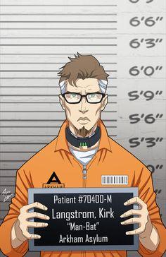 Kirk Langstrom locked up