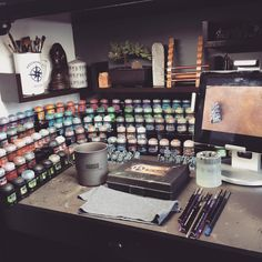 Found this on Pinterest posted by someone else. It's my hobby station! How bout that. #proudnerd