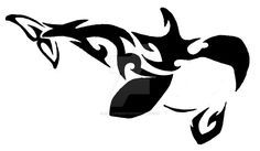 Inquisitive by art-lemming on DeviantArt - Tribal Killer Whale - Orca Tattoo, Whale Tattoos, Body Art Tattoos, Tribal Tattoos, Bull Tattoos, Tatoos, Killer Whale Tattoo, Killer Whales, Orcas