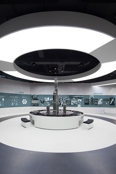 Coordination Asia Shanghai Design Nuclear Power Science and Technology Museum Science Center China Museum Exhibition Design, Exhibition Display, Exhibition Space, Design Museum, Exhibition Ideas, Art Museum, Hall Design, Booth Design, Industrial Office Design