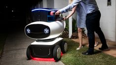 The said there'd be robots. Instead, we got pizza delivery robots. Wait, that's even better! Last night, Domino's lifted the curtain...