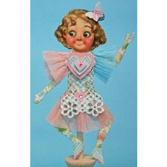 Googlie Paper Art Doll