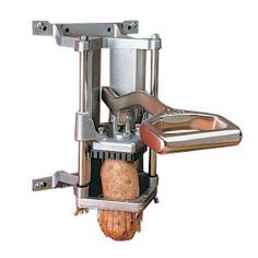 Nemco N55450-6 Six Section Wedge Easy Fry Cutter by Nemco. $206.00. Perfect your french fry preparations with this Six Section Wedge Easy Fry Cutter (N55450-6) from Nemco. With only a pull of the lever, you can have perfectly sliced potatoes in seconds. This cutter is built from stainless steel, allowing to greater durability and longevity. Its heavy-duty construction can take on heavy amounts of use and will last you through hundreds of potatoes. Its compact design allows...