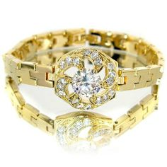 Fabulous Flower Styled Champagne Yellow Gold Plated Simulated Diamond CZ with Diamond Accent Link Bracelet BC268 myCullinan. $44.99. 100%Customer Satisfaction Guarantee. Good affordable price. Best value for money. Come with FREE Elegant Ribbon Royal Purple Gift Box. Photo of actual item. Sophisticated Design and Superior Quality. Fulfillment by Amazon (FBA). Amazon will pick, pack and ship the products - anytime, and to any place. Save 54%!