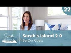 (1340) Design Life: Sarah's Island 2.0: Be Our Guest - Guest Room, Bunkie and Bathroom Ideas (Ep. 22) - YouTube