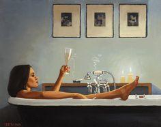 Jack Vettriano_Night-Time Rituals II (for my Bathroom)