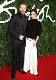 David and Victoria Beckham's Most Stylish Couple Moments - December 1, 2014 from InStyle.com