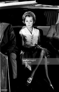 Lilli Palmer, *-+, Actress, Germany - with her son Carey of the marriage with Rex Harrison at the airport Berlin Tempelhof - 1955 Get premium, high resolution news photos at Getty Images Lilli Palmer, Star Wars, January 27, Galleries, Ferrari, Madrid, Sons, Spain, Editorial