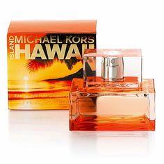 Island Hawaii Michael Kors perfume - a fragrance for women 2007 Michael Kors Parfum, Perfume And Cologne, Perfume Bottles, Summer In A Bottle, Perfume Body Spray, How To Grow Your Hair Faster, Orange Blossom, Smell Good, Hand Sanitizer