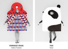 Le bestiaire kid's costumes by ionna vautrin