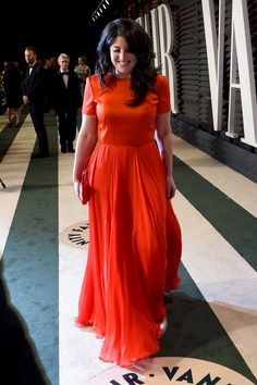 Pin for Later: See Which Stars Let Their Hair Down at Vanity Fair's Oscars Afterparty! Monica Lewinsky