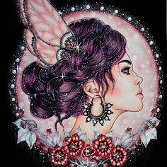 #hannakarlzon #dagdrömmar #dagdrömmarhannakarlzon #dagdrommar #dagdrømmer #hannakarlzonsommarnatt #sommarnatt #magiskgryning #princess #colouring #colors #coloringbook #zasneni #podmesnivat #adultcoloringbook #adult #antistress #antistresoveomalovanky #omalovankyprodospele #jardimsecretotop #jardimsecreto #animal #animals #drawing #fabercastell #polychromos #kohinoor #polycolor #coloringforadult #artecomoterapia