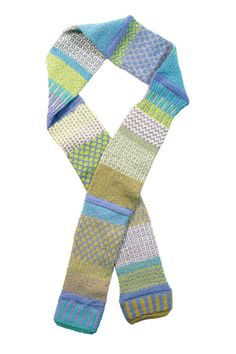 """Soft and vibrant, Solmate scarves are fun to wear! Solmate sells their scarves in what they call a patchwork style. Perfect for wrapping around cold necks on chilly afternoons.    Measures about 62"""" x 3.5"""".   Patchwork Scarf  by Solmate. Accessories - Scarves & Wraps Cleveland, Ohio"""