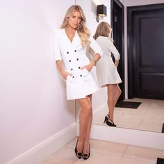 Sylvie Meis Style, Sexy Legs, Lady, White Dress, Going Dutch, Celebrities, Outfits, Dresses, Instagram