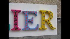 Letras coloridas na decoração - Atelier (+playlist)