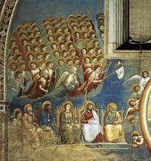 Last Judgment (detail 2) 1306, Fresco, Cappella Scrovegni... - Giotto Di Bondone - www.giottodibondone.org