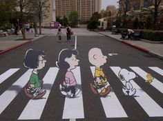 abbey road - Snoopy