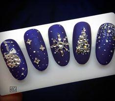50 Beautiful Stylish and Trendy Nail Art Designs for Christmas Xmas Nails, Holiday Nails, Christmas Nails, Christmas Nail Art Designs, Winter Nail Designs, Trendy Nail Art, Cool Nail Art, Beautiful Nail Designs, Cool Nail Designs