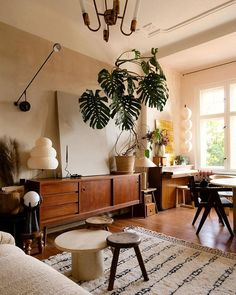 Pretty Room, Boho Living Room, Living Rooms, Green Wedding Shoes, Home Look, Bohemian Decor, Decorative Bowls, Sweet Home, New Homes