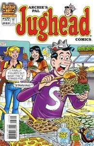 Jughead Comics. Loved this series (Archie) when I was a kid. Just bought Winston his first. Super fun.