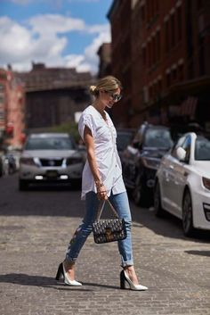 The Latest Street Style From New York Fashion Week via @WhoWhatWearUK