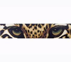 Leopard Eyes Hand-Painted Acrylic on Canvas