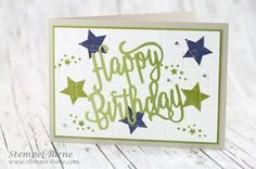 Stampin' Up! Thinlits Happy Birthday