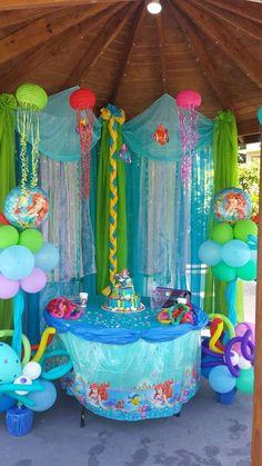 little Mermaid Birthday Party Ideas | Photo 4 of 13