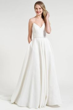 2611bd58349 51 Best Minimalist Wedding Dresses images in 2019