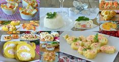 Vale Cucina e Fantasia Italian Cooking, Antipasto, Mini Cupcakes, Potato Salad, Buffet, Sushi, Appetizers, Menu, Yummy Food