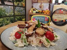Καλοκαιρινή μακαρονοσαλάτα με απάκι Potato Salad, Potatoes, Chicken, Meat, Ethnic Recipes, Food, Potato, Essen, Meals