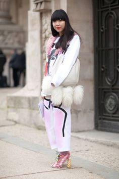Get inspired with these street style looks from the chic crowd at Paris Couture Week.