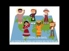 Kids Songs - Hello to all the Children of the World - Kid friendly - YouTube
