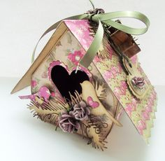 birdhouse treat box