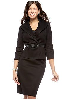 Calvin Klein Belted Skirt Suit from Belk for $99.99