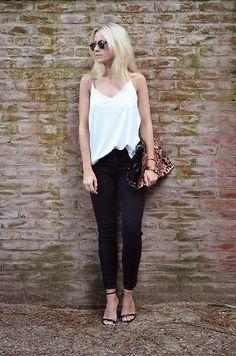 Gina Tricot Shirt, Zara Jeans