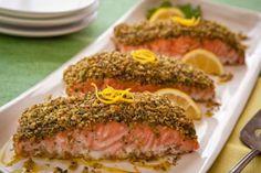 "Pistachio ""Crusted"" Salmon | Paleoista"