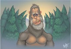 Rey Paez: Harry for Sketch Dailies Cartoon Tv, Cartoon Drawings, Cute Drawings, Bigfoot Pictures, Bigfoot Pics, Harry And The Hendersons, Bigfoot Sasquatch, Cryptozoology, Cute Monsters