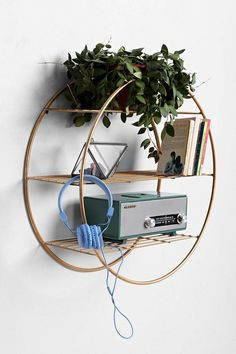 Wire Circle Shelf - Urban Outfitters